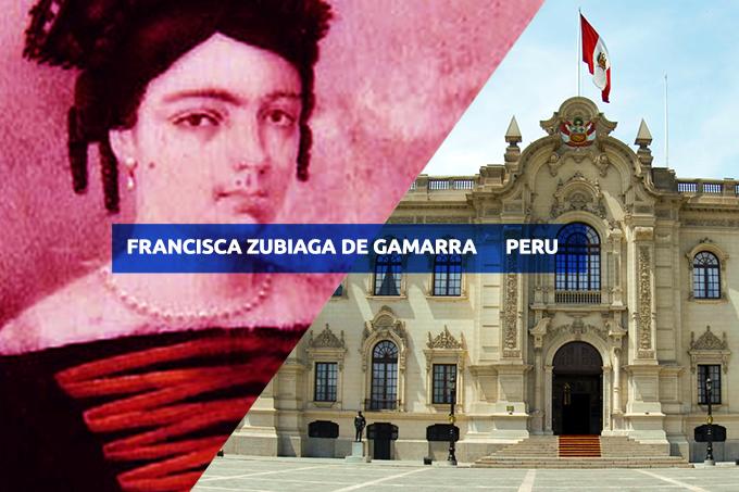 Francisca Zubiaga de Gamarra