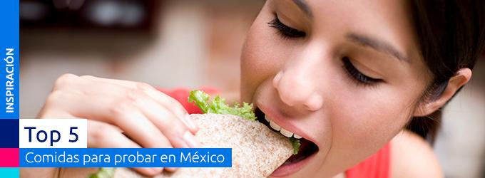 comiendo en mexico