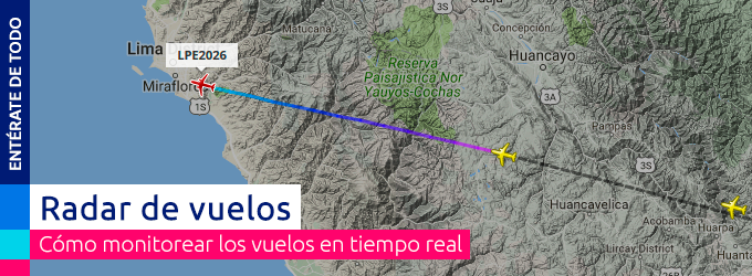 radar de vuelos
